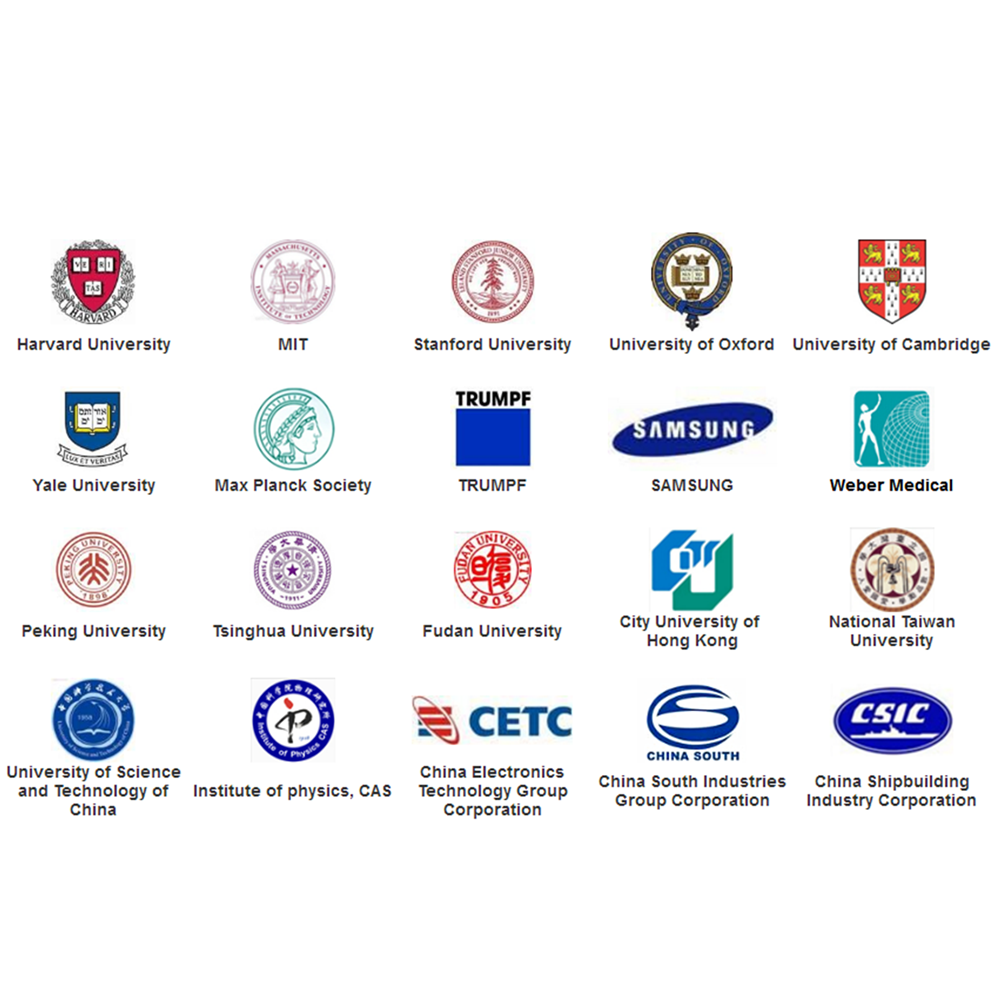 Customers  around the world---Famous universities and organizations
