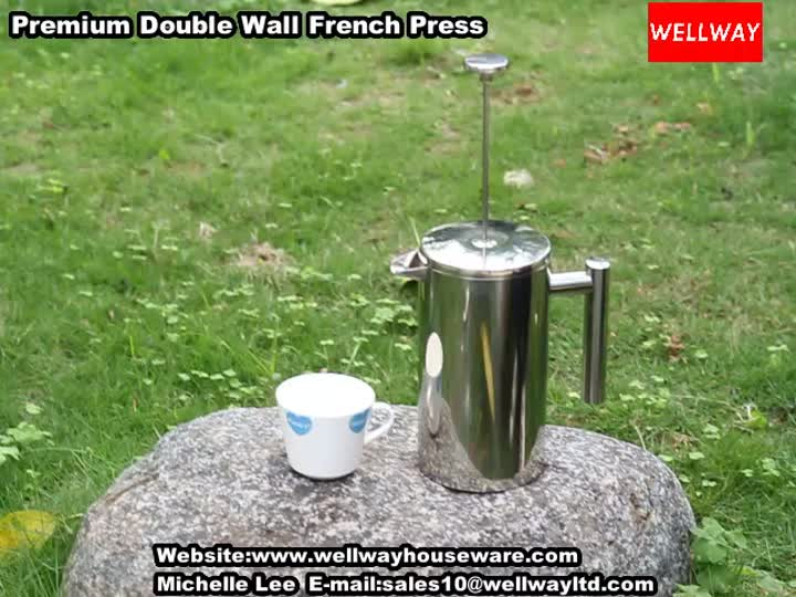 Premium Double Wall French Press.mp4