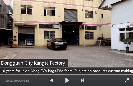Kangta Factory OEM custom Obag EVA bag&EVA Foam Products Video