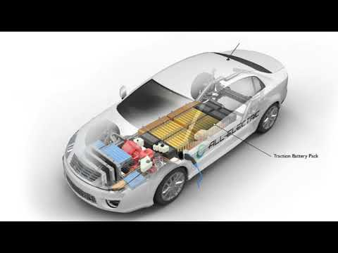 Electric Vehicle Battery Pack Cooling
