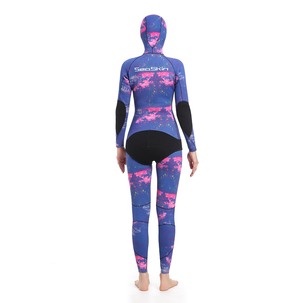 Dw015 Seaskin Women Two Pieces Wetsuit 86