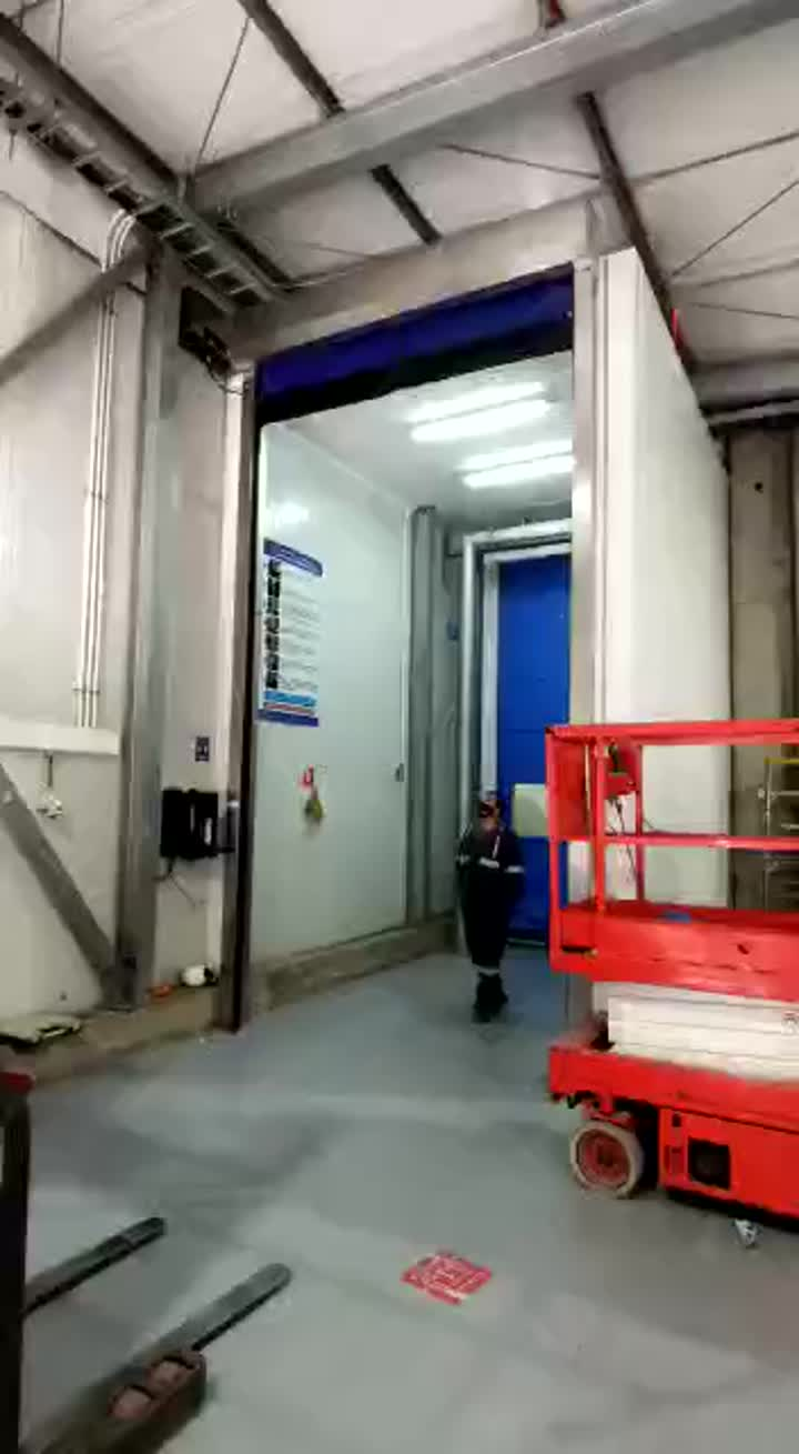 self repairing rapid door