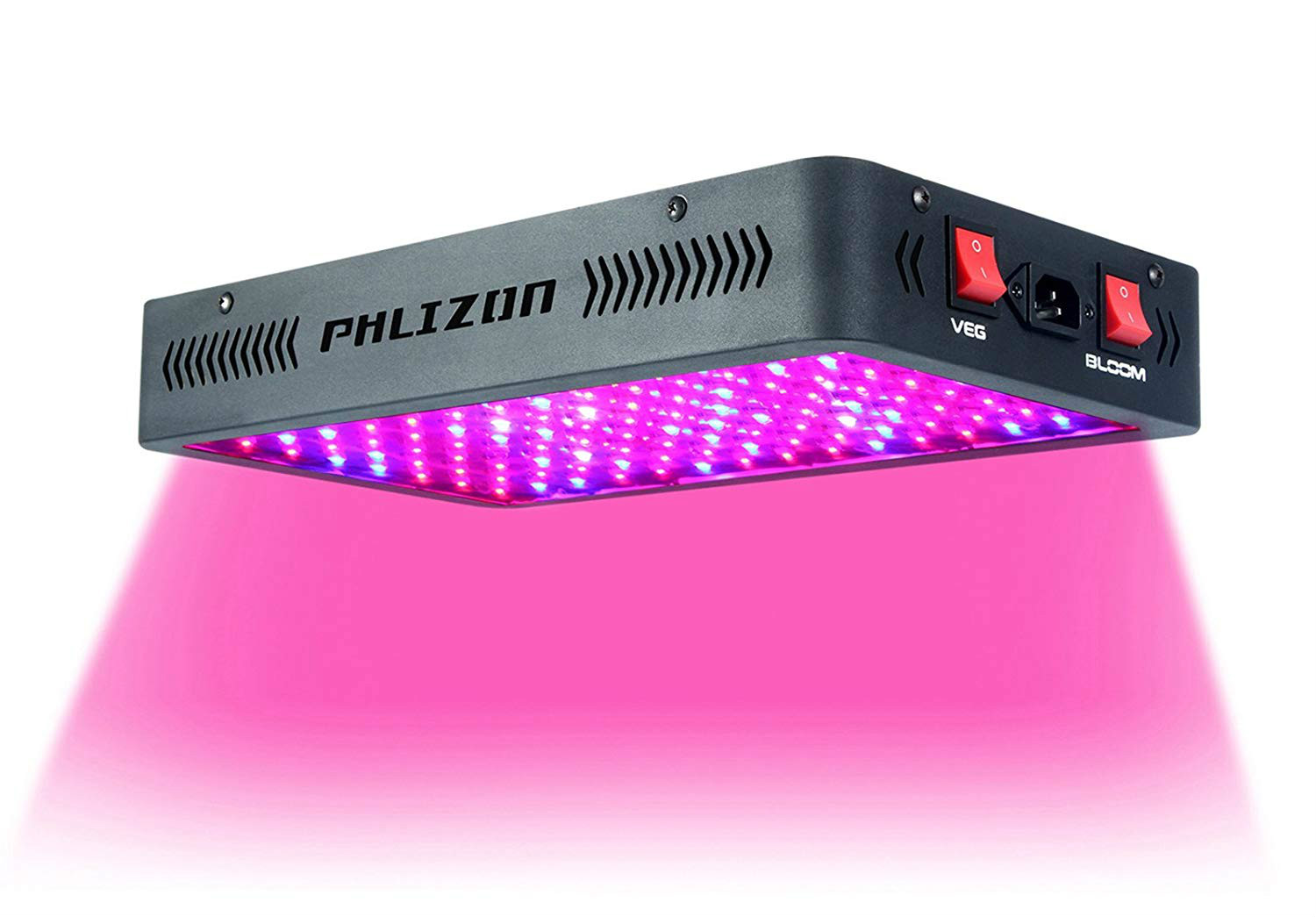 My Review of the PHILZON 1200 WATT LED GROWLIGHT, BY the BLURPLE KING OF LEDS