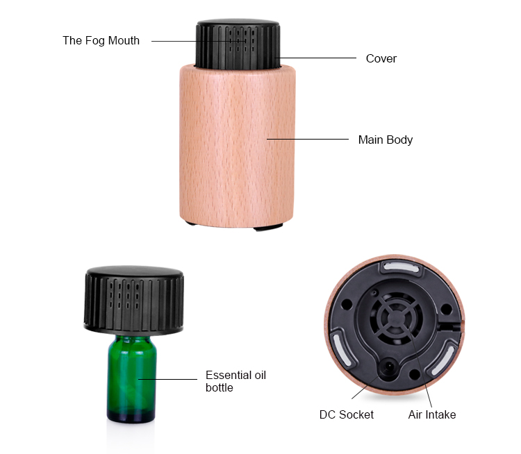 Waterless Aromatherapy Diffuser