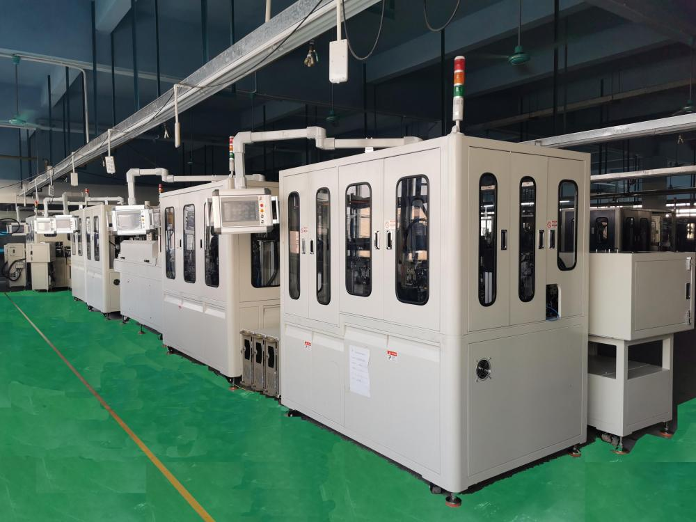 Automatic assembly production line