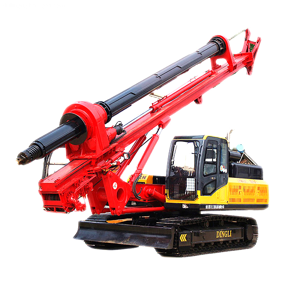 Mobile Pile Machine