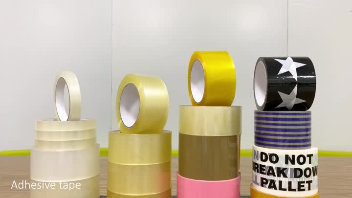 colored packing tape.mp4