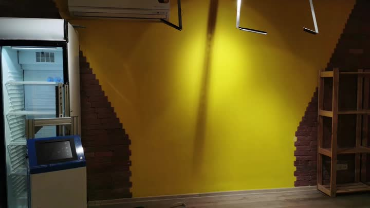 resturant wall painting.mp4
