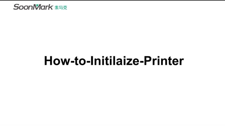 How to initialize printer?