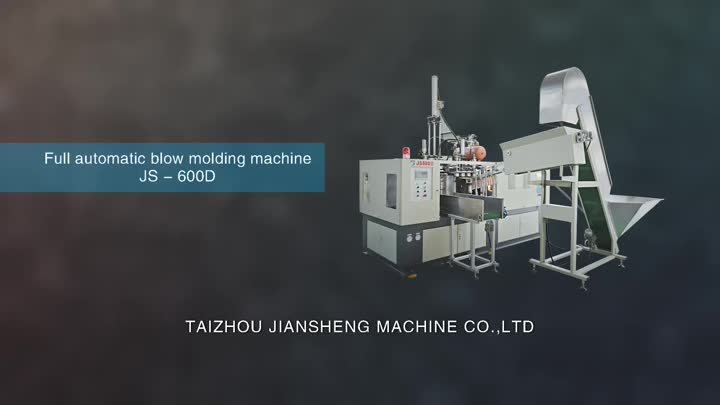 600D Full Automatic Pet Blow Moulding Machine.mp4