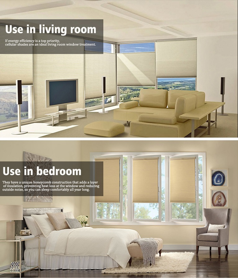 Smart Window Cellular Blind
