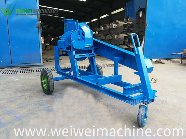 chaff cutter shredding machine