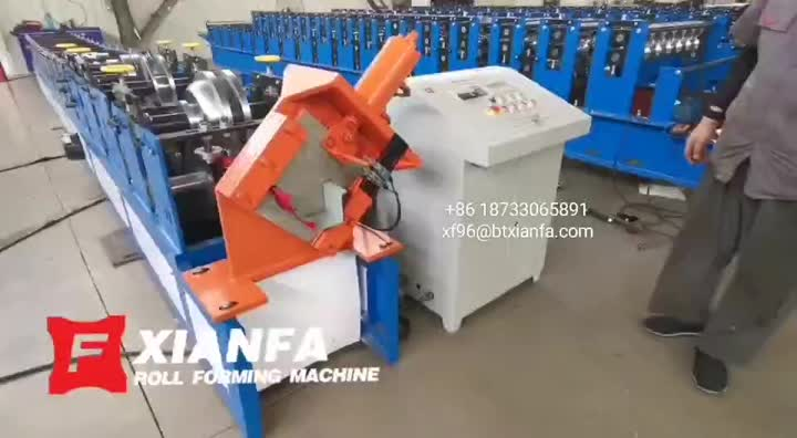 Gutter Forming Machine for Columbia
