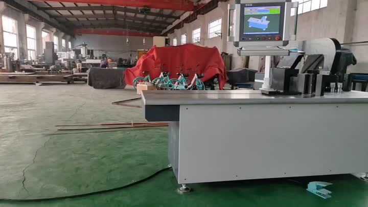 BRMX 3D Intelligent Hybrid Busbar Bending Machine .mp4