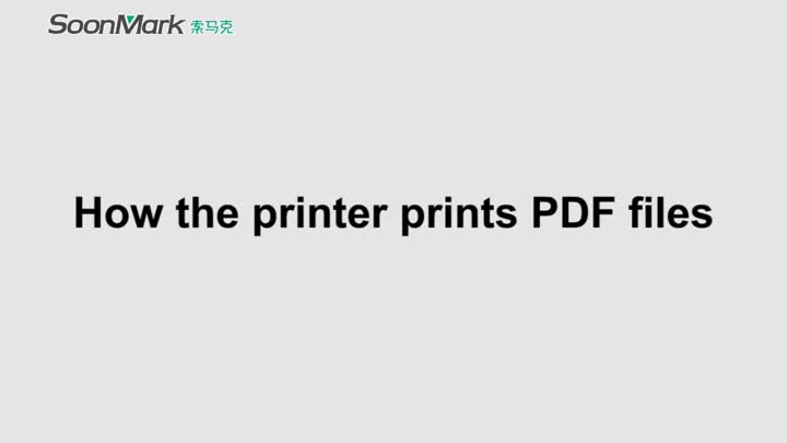 Print the labels in PDF file from computer.mp4