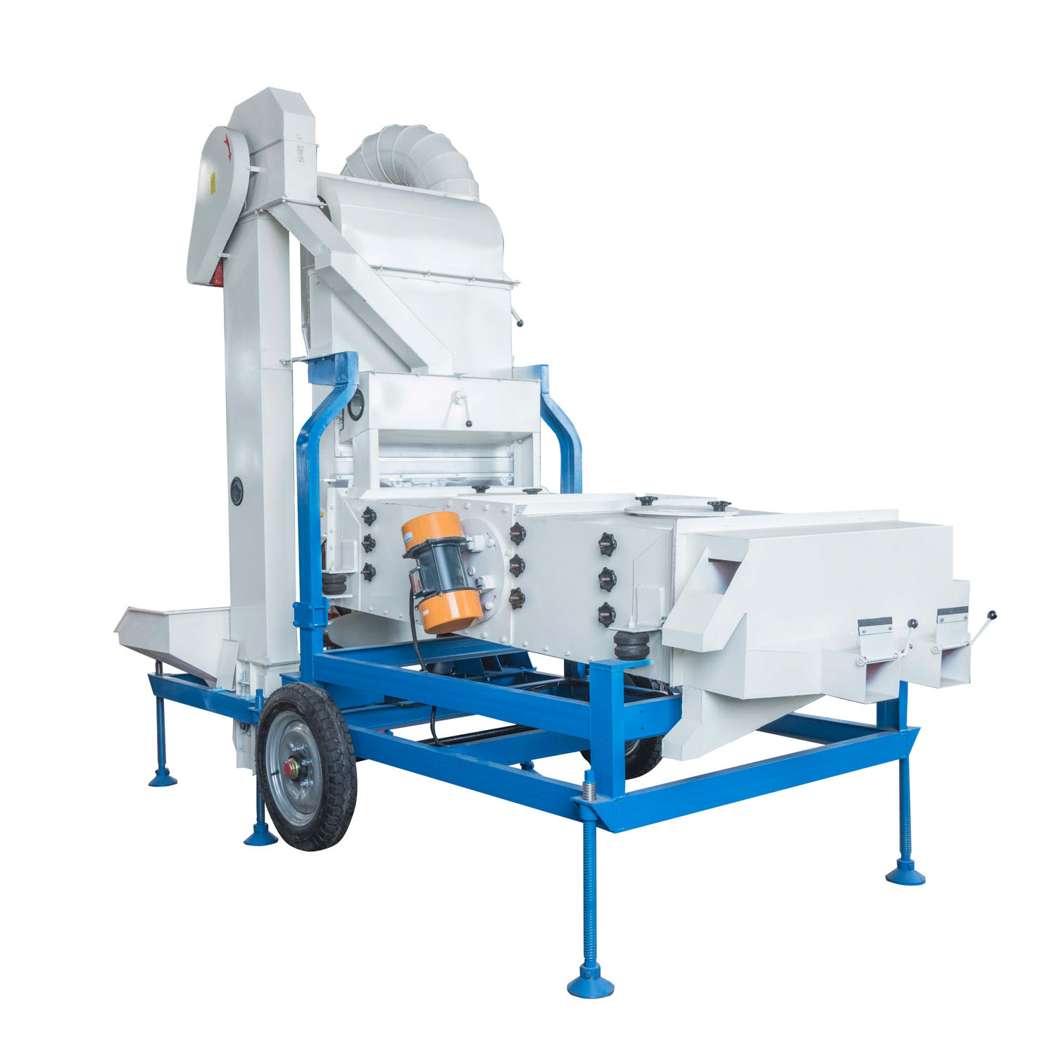 Seed cleaner and grader agriculture machine