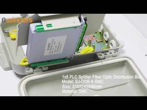 SJ-ODB-8-SMC 1x8 PLC Splitter Fiber Optic Distribution Box