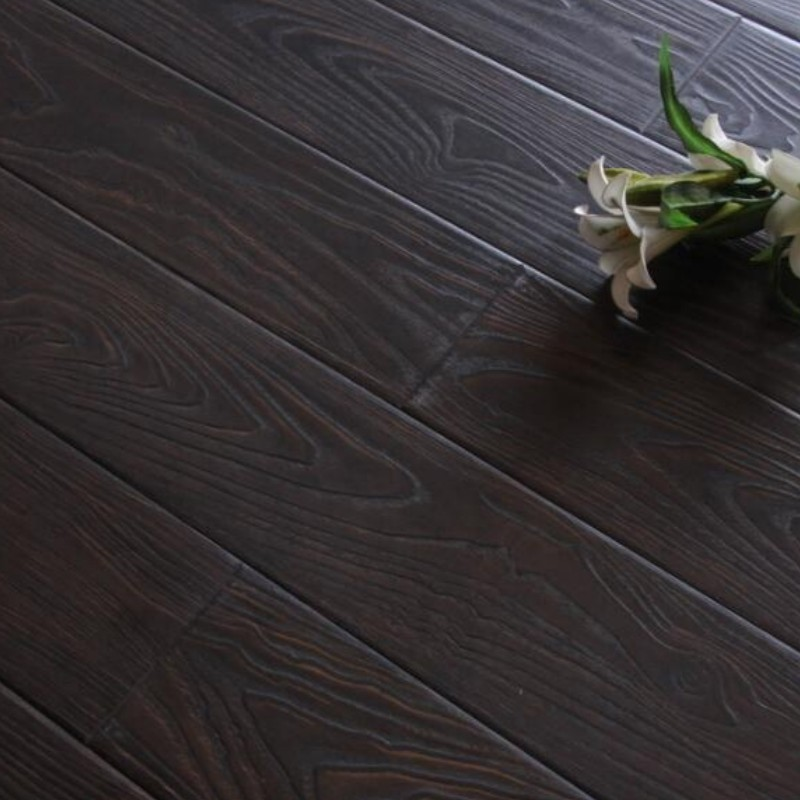 Laminate flooring with green core board