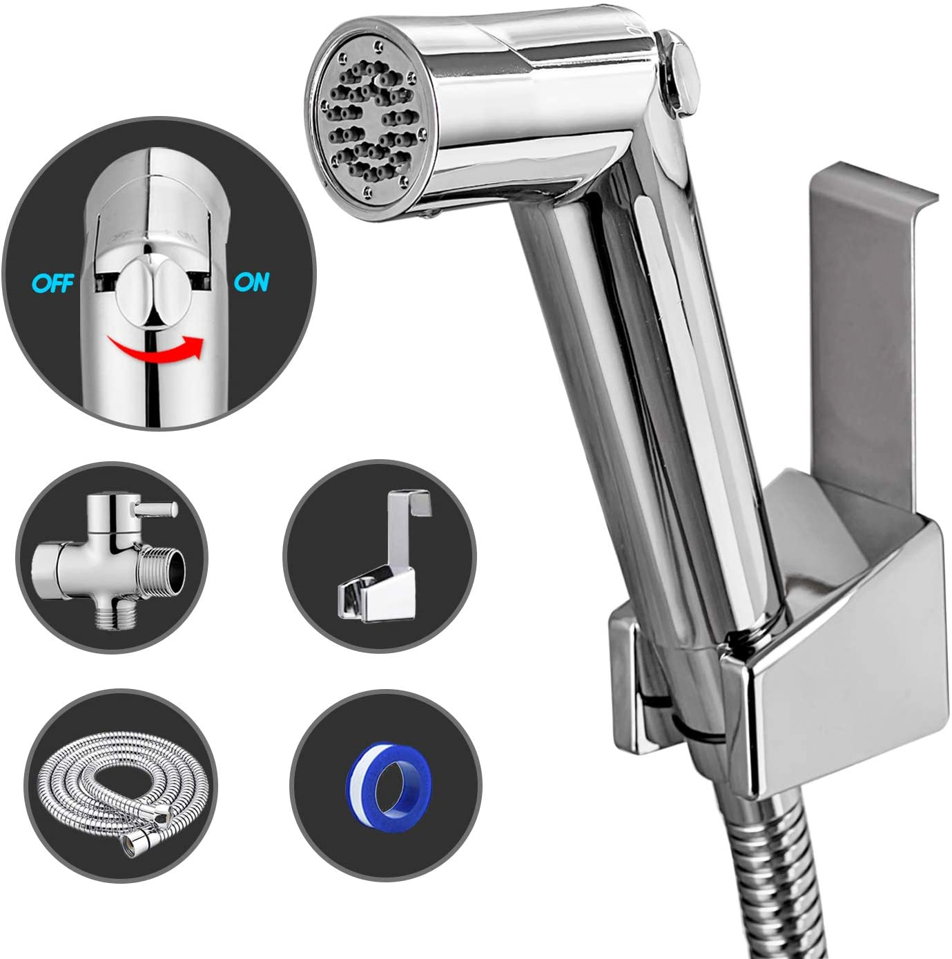 Grohe type bathroom shattaf bidet spray