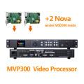 Full Color Led Display Video Processor MVP300 USB Video Controller With 2 Nova MSD300 Compare Kystar KS600
