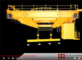 Overhead Crane with Magnet