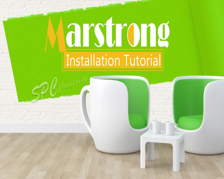 SPC flooring Installation tutorial