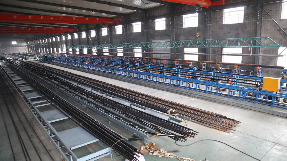 Industrial hose production line