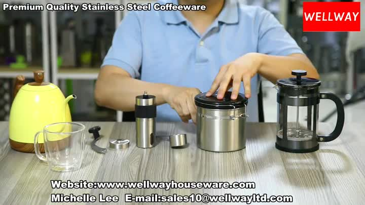 Premium Quality Stainless Steel Coffeeware.mp4