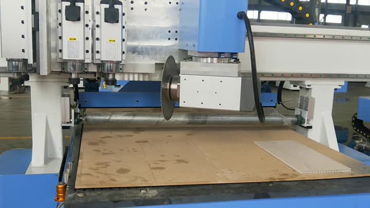 plywood cutting cnc router.mp4