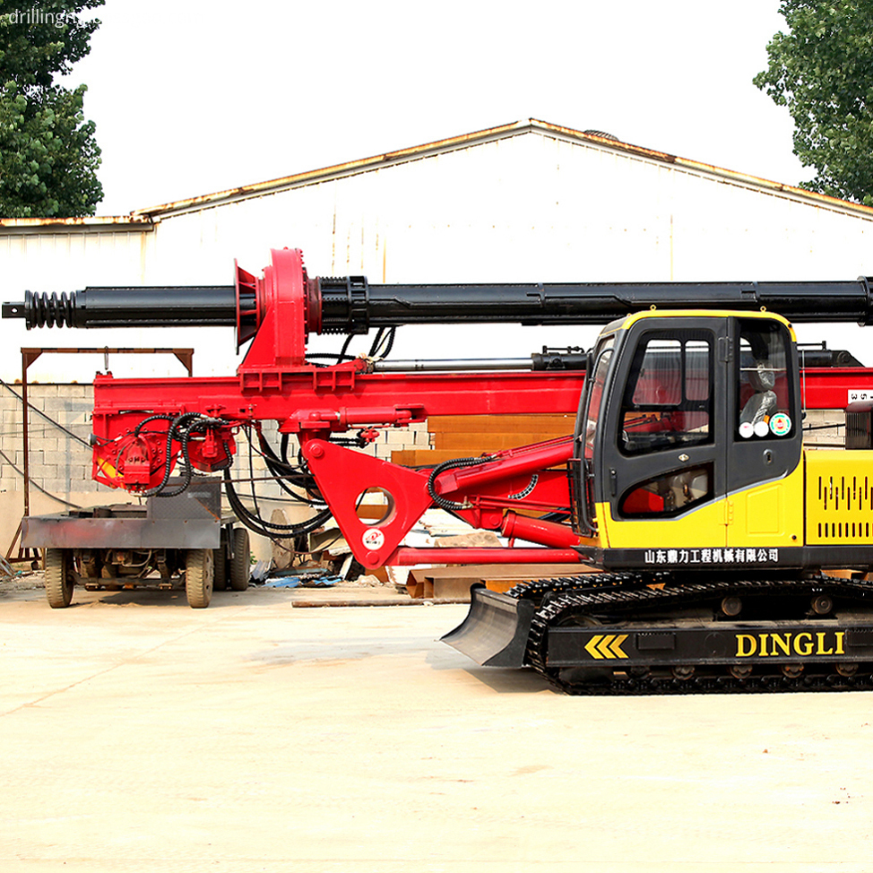 Hydraulic Diesel Piling Drill Machine