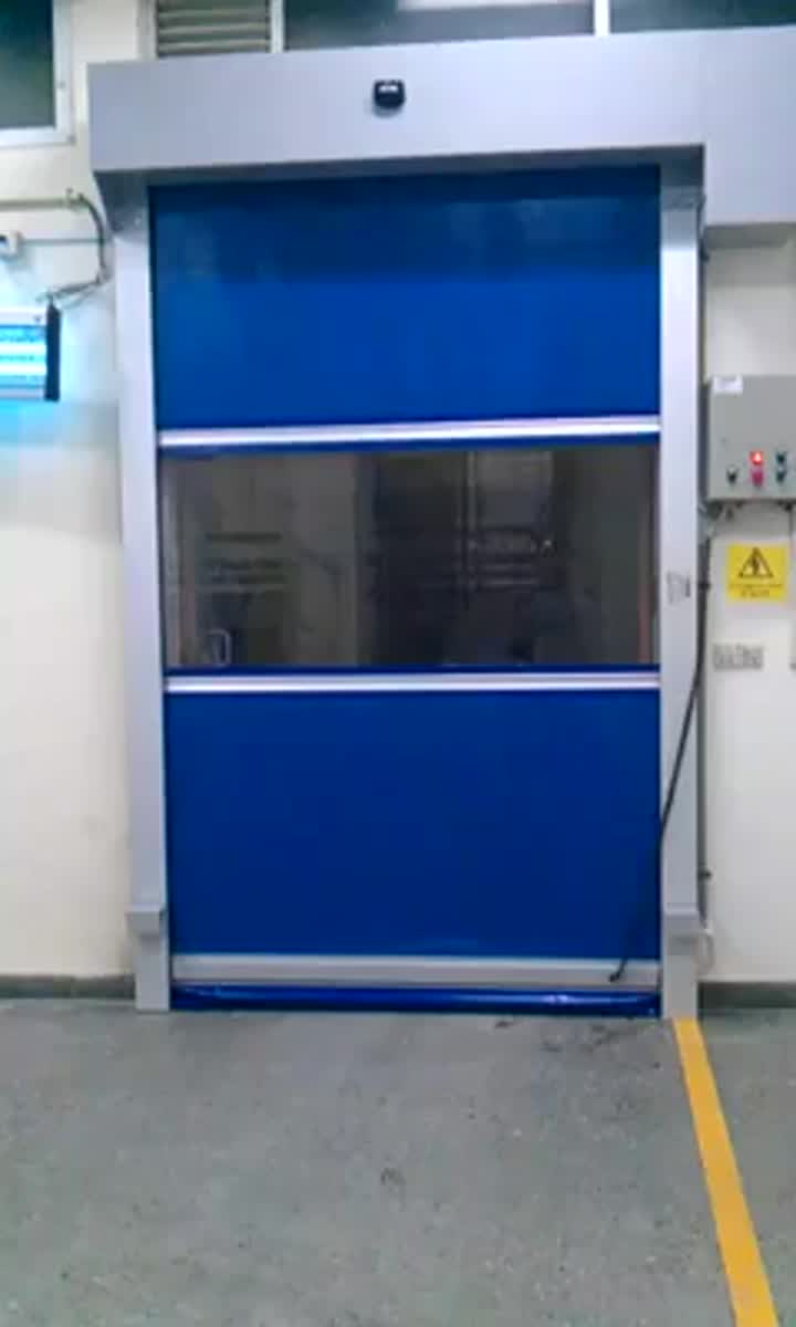 PVC RAPID ROLLUP DOOR