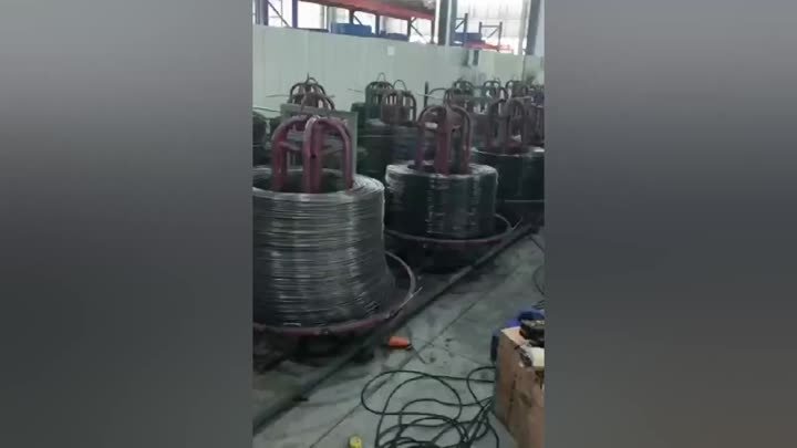Automatic Wire Mesh Welding Machine.mp4