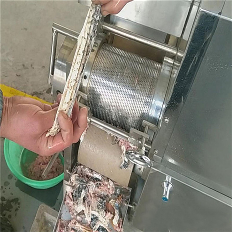 Fish Meat Bone Separating Machine