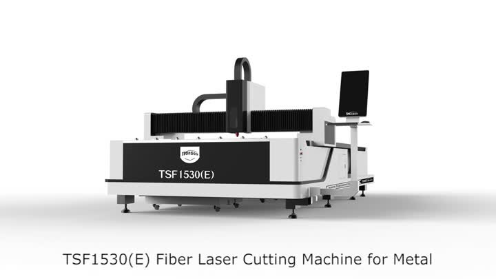Hot sale 1530 1000W fiber laser cutting machine.mp4