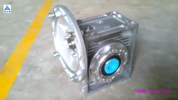 NMRV worm reduction gearbox.mp4