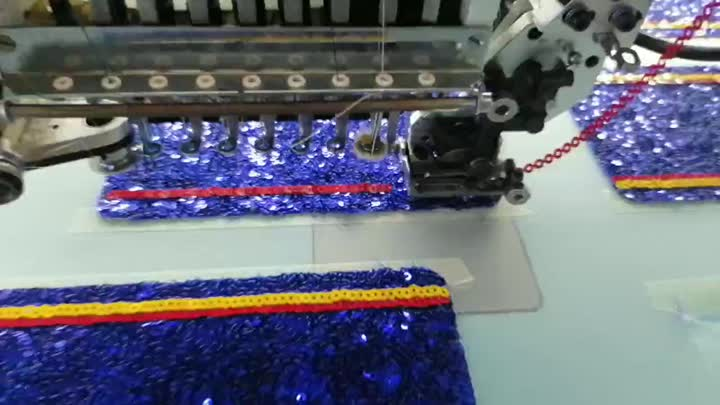 sequin embroidery