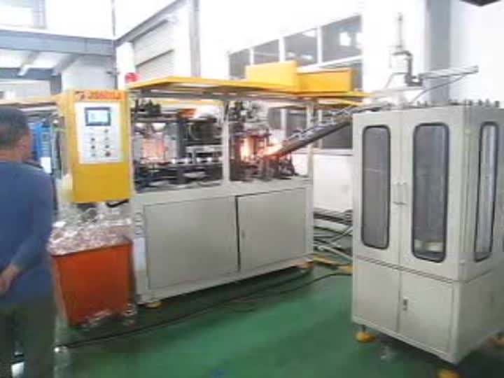 600J Pet Blow Molding Machine.mp4