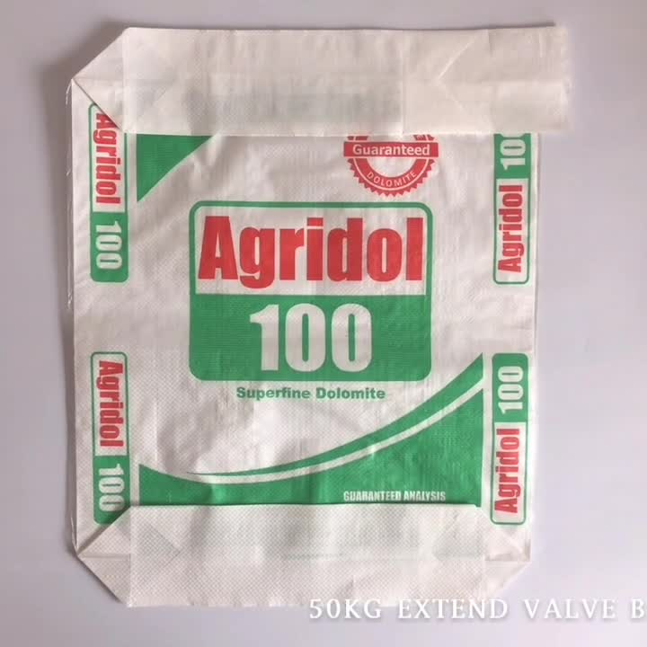 Sac de valve allongé 50 kg .MP4