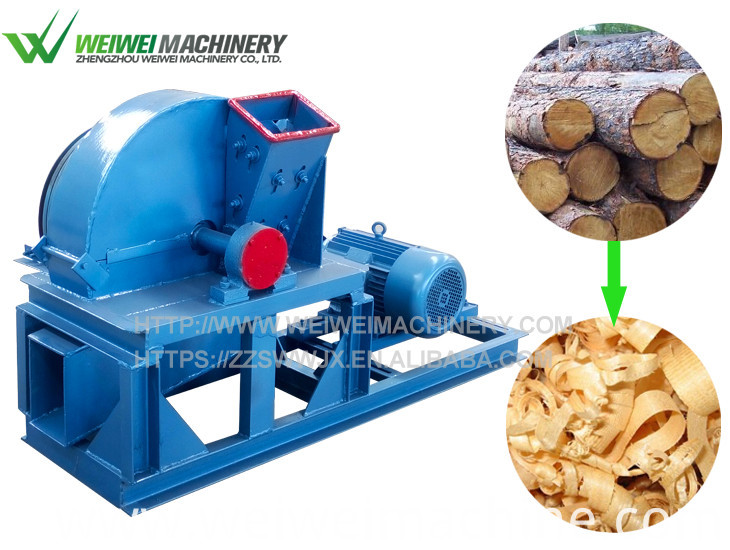 wood shavings press compactor baler machine
