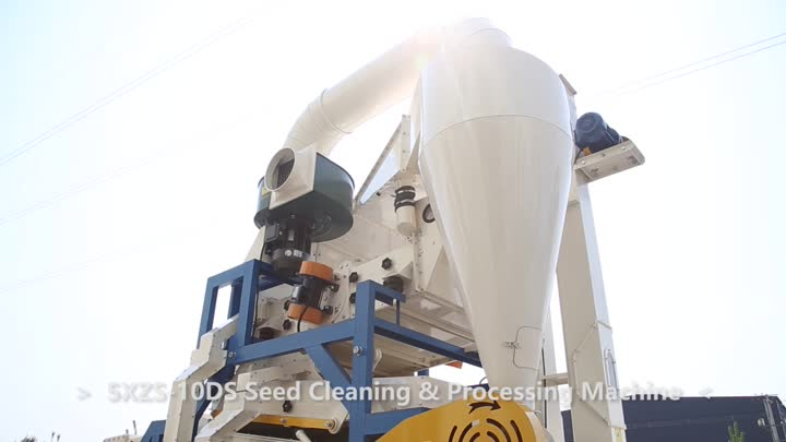 5XZS-10DS Seed Cleaning & Processing Machine clean sesame.mp4