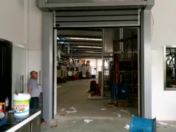 Aluminum Sprial high speed doors