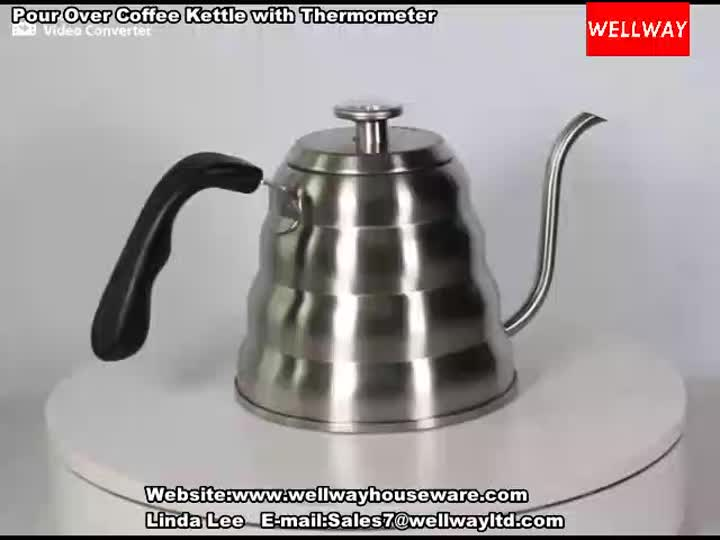 Pour Over Coffee Kettle with Thermometer.mp4