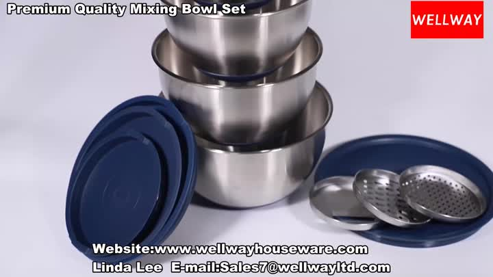 Premium Quality Stainless Steel Mixing Bowl Set.mp4