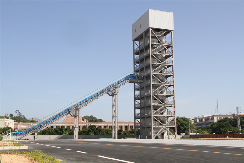 Escalator test tower