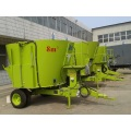 dairy cow used tmr mixer wagon