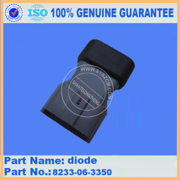 excavator spare parts diode 8233-06-3350 for PC300-7