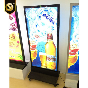 Large Size Exhibition Digital LED Static Lightbox Signage