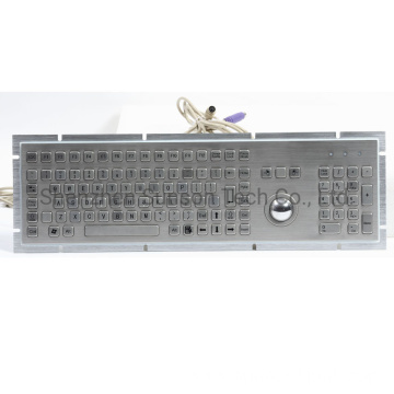 Metal Numeric Keyboard with Trackball for Kiosk