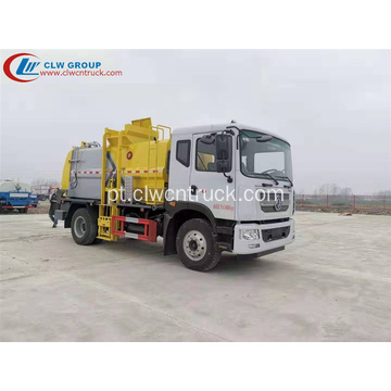 VENDA QUENTE DFAC 9CBM Waste Food Transport Truck