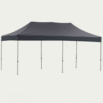 Black polyester fabric EZ up outdoor folding tent